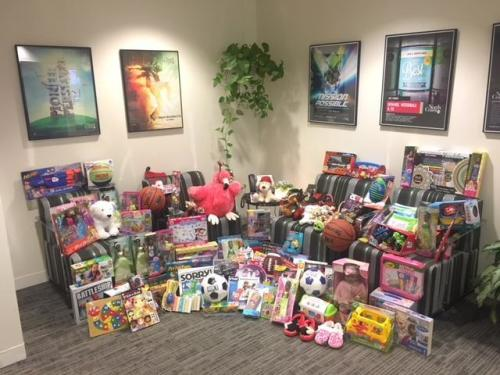 2018 Hope for the Holidays-Toy drive for Cuyahoga County Foster kids